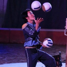 Ball Juggling Act