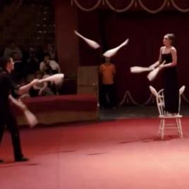 Duo Club Juggling Act