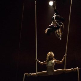Duo Cradle Trapeze Act