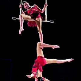 Duo Trapeze Act