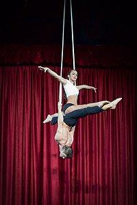 Aerial Adage Duo