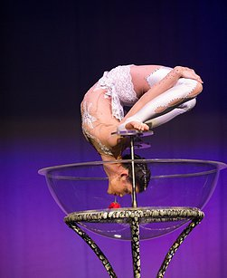 Unique Bowl Contortion Act