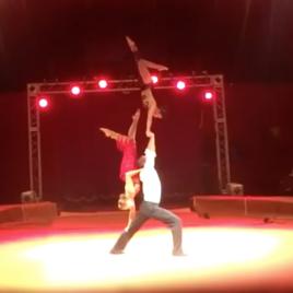 Sports Acro Trio Tango Act