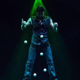 Bounce Ball Juggling Act