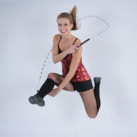 Female Skipping Demo
