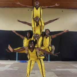 6 Man Acrobatic Team Show