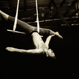 Swinging trapeze / Hula – Hoops / Tumbling