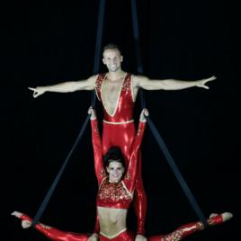 Aerial Duo / Straps / Silk / Lyra / Sling / Adagio