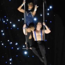 Duo Static Trapeze Act