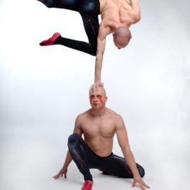 Strong Man Balance Act
