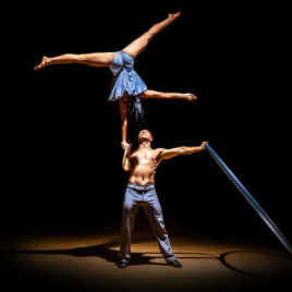 Hand to Hand Adagio / Flying  Cyr Wheel Artists