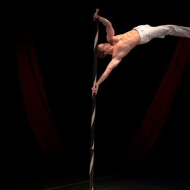 Male Juggler & Pole Acrobat