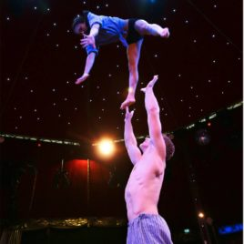 Hand to Hand Acrobatic Adagio Duo