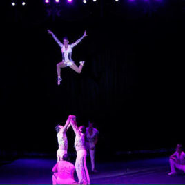 Banquine Group act / Skiping rope act