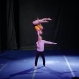 Acrobatic adagio / Hand to hand duo / Russian bar